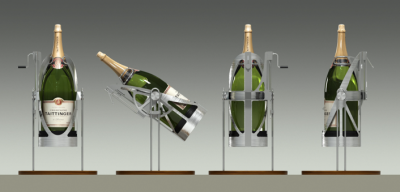 PLV Design Produit - Iconomedia Saison 2 - TAITTINGER