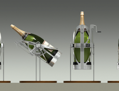 PLV Design Produit – Iconomedia Saison 2 – TAITTINGER