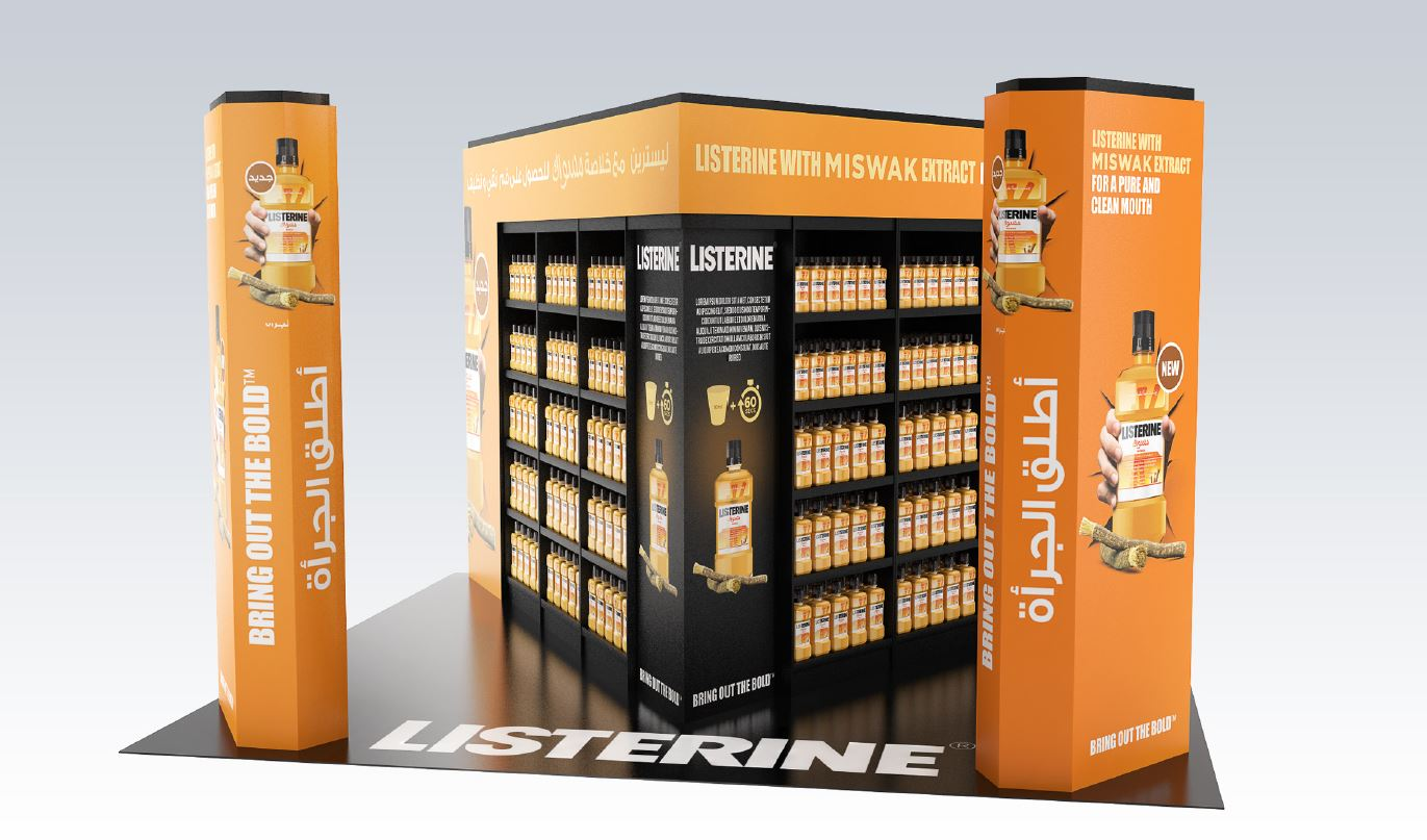 Plv mobilier trade marketing iconomedia saison 2 for Meuble johnson