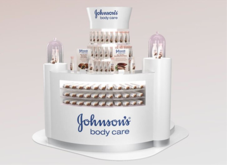 PLV Mobilier Trade Marketing - Iconomedia Saison 2 - JOHSON & JOHNSON