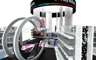 PLV Stand Digital - Iconomedia Saison 2 - SONY